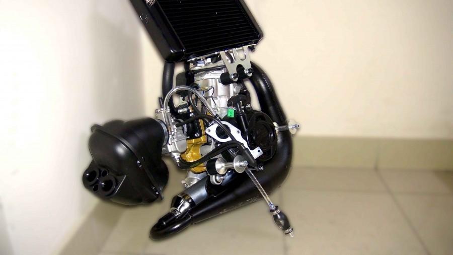 Polini Thor 250 Pwk Carburetor Pull Start Flash